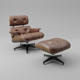 Thumbnail: Eames lounge chair