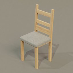 Thumbnail: Wooden chair