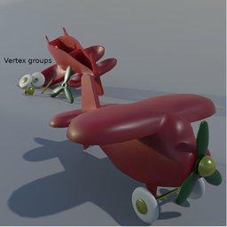 Thumbnail: Cheap plastic toy plane