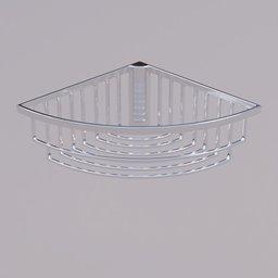 Thumbnail: Corner shower basket
