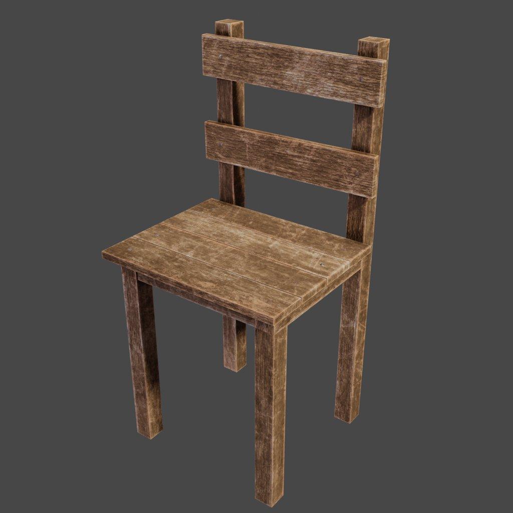 Enjoyable Blenderkit Seating Model Medieval Wooden Chair By Inzonedesignstudio Interior Chair Design Inzonedesignstudiocom
