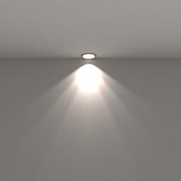 Thumbnail: built in spot lamp, white
