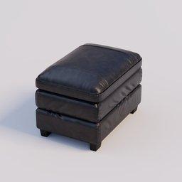 Thumbnail: Gleason Ottoman Chair