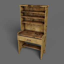 Thumbnail: Old wooden cupboard