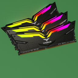 Thumbnail: RAM DDR4 TeamGroup TFORCE NIGHT HAWK