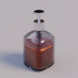 Thumbnail: Pump-soap bottle