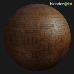 Thumbnail: Wooden floor 002 (Kit)