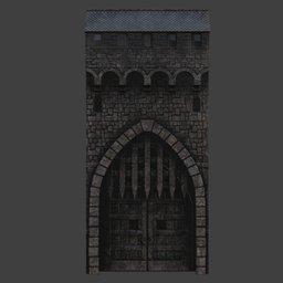 Thumbnail: Castle gate
