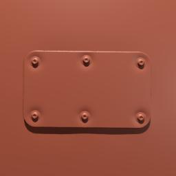 Thumbnail: metal plate small