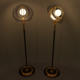 Thumbnail: Retro floor lamp