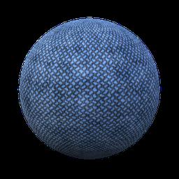 Thumbnail: Fabric oxford blue