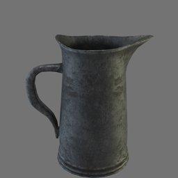 Thumbnail: Medieval pewter tankard