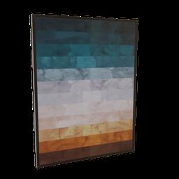 Thumbnail: Painting  landscape watercolor tracks