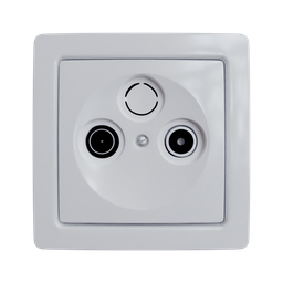 Thumbnail: ABB Swing TV+R socket