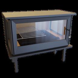 Thumbnail: Fireplace Integrated Boreal i903