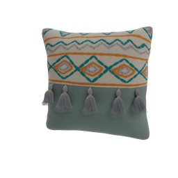 Thumbnail: Decorated cushion