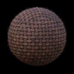 Thumbnail: basket wide stripes