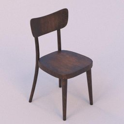 Thumbnail: brown wooden chair