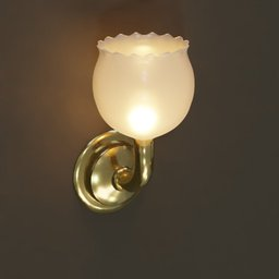 Thumbnail: Antique Wall Lamp