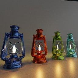Thumbnail: Medieval color lantern