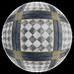 Thumbnail: Decorative marble floor