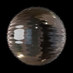 Thumbnail: Wavy acrylic glass