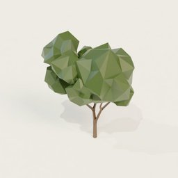 Thumbnail: Low poly tree 4