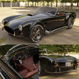 Thumbnail: Shelby-Ford AC Cobra