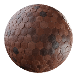 Thumbnail: Terracotta Hexagonal Tiles