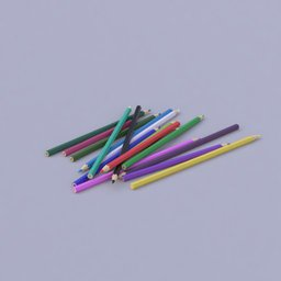 Thumbnail: scattered color pencils