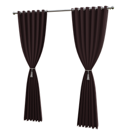 Thumbnail: Long curtain