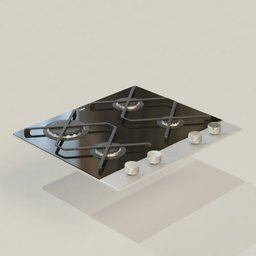 Thumbnail: Gas Plate Amica PG6611SRB IN