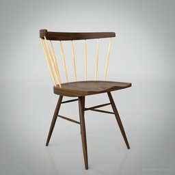 Thumbnail: Knoll Straight Chair