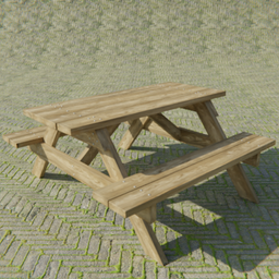 Thumbnail: Wooden Bench