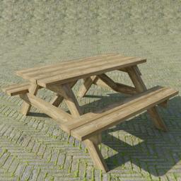 Thumbnail: Wooden Bench