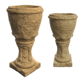 Thumbnail: Old Greek style flower pot