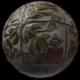 Thumbnail: Tiles roses