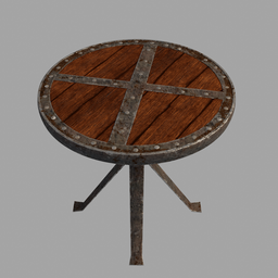 Thumbnail: Medieval round table