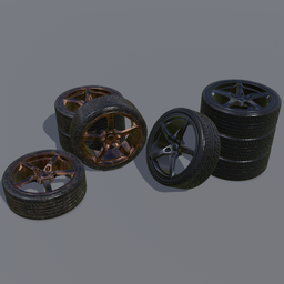 Thumbnail: Sport car wheel