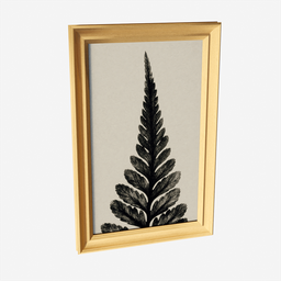 Thumbnail: Wall Picture Leaf