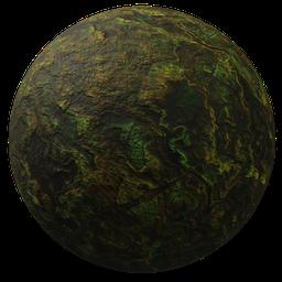 Thumbnail: Abstract green stone