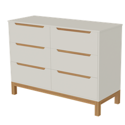 Thumbnail: Chest of drawers 6 Drawers