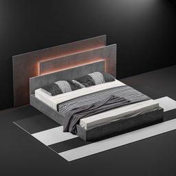 Thumbnail: Bed 003