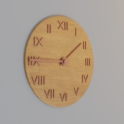 Thumbnail: big wooden clock