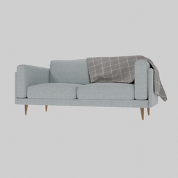 Thumbnail: Contemporary 3 Seater Sofa