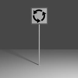 Thumbnail: Roundabout plaque
