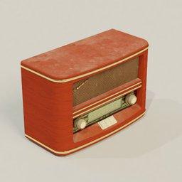 Thumbnail: Roadstar retro radio