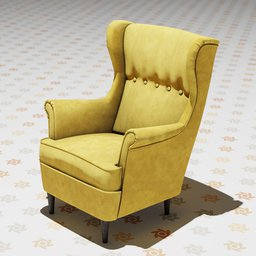 Thumbnail: The Strandmon Wing Chair.