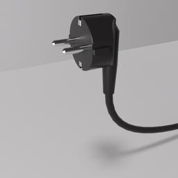 Thumbnail: 220 volt angled plug