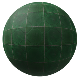 Thumbnail: Green tiles